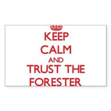 Keep Calm and Trust the Forester Decal