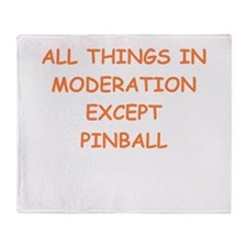 pinball Throw Blanket