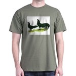 Black Sumatra Chickens Dark T-Shirt