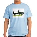 Black Sumatra Chickens Light T-Shirt