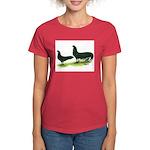 Black Sumatra Chickens Women's Dark T-Shirt