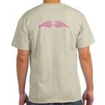 Pink Angel Wings Light T-Shirt
