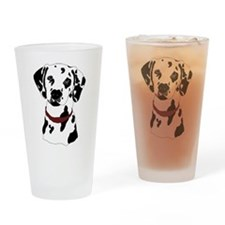 Dalmatian Drinking Glass
