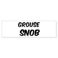 Grouse Bumper Bumper Sticker