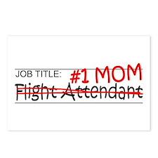 Job Mom Flight Attendant Postcards (Package of 8)