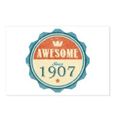 Awesome Since 1907 Postcards (Package of 8)