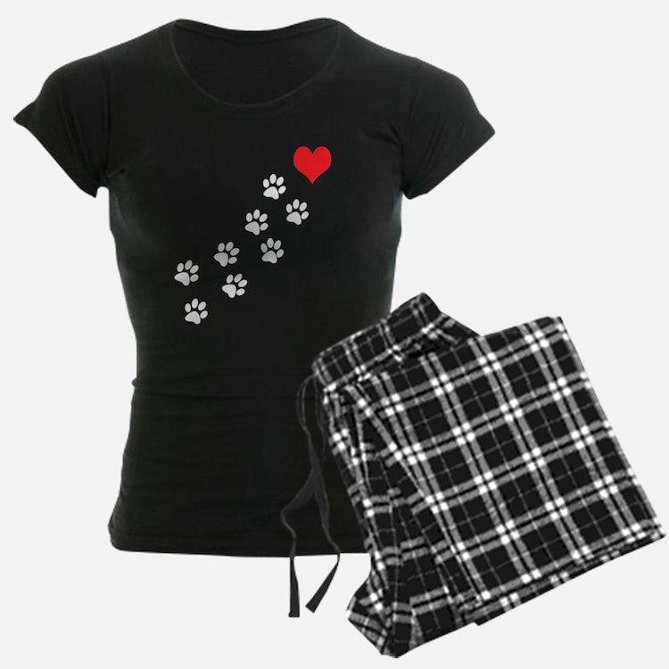 Paw Prints To My Heart pajamas