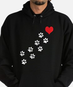 Paw Prints To My Heart Hoody