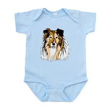 Collie Infant Bodysuit