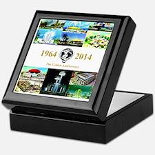 The Golden Anniversary Keepsake Box
