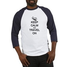 Keep Calm and Travel On Cruise Shi Baseball Jersey
