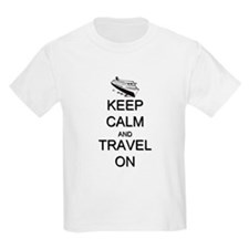 Keep Calm and Travel On Cruise T-Shirt
