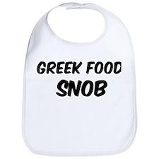 Greek Food Bib