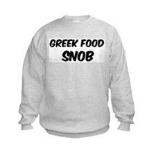 Greek Food Sweatshirt