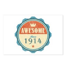 Awesome Since 1914 Postcards (Package of 8)