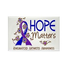 RA Hope Matters 3 Rectangle Magnet