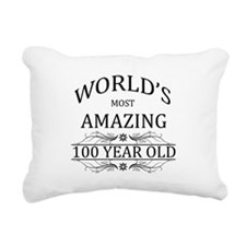 World's Most Amazing 100 Rectangular Canvas Pillow
