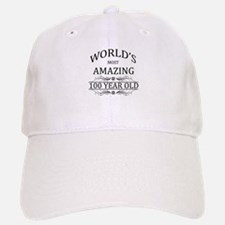 World's Most Amazing 100 Year Old Baseball Baseball Cap