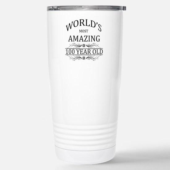 World's Most Amazing 10 Stainless Steel Travel Mug