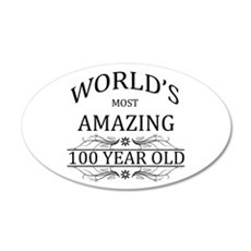 World's Most Amazing 100 Yea Wall Decal