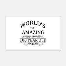 World's Most Amazing 100 Year O Car Magnet 20 x 12