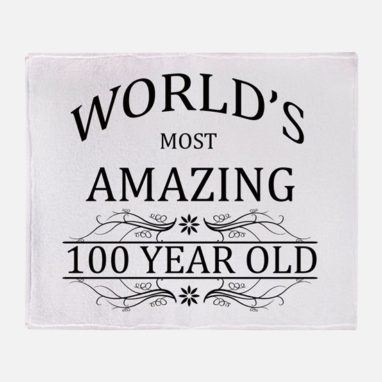World's Most Amazing 100 Year Old Throw Blanket