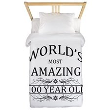 World's Most Amazing 100 Year Old Twin Duvet