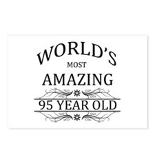 World's Most Amazing 95 Y Postcards (Package of 8)