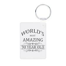 World's Most Amazing 90 Ye Keychains