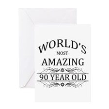 World's Most Amazing 90 Year Old Greeting Card