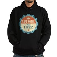 Awesome Since 1922 Dark Hoodie