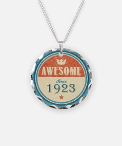 Awesome Since 1923 Necklace
