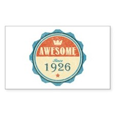 Awesome Since 1926 Rectangle Decal