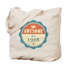 Awesome Since 1928 Tote Bag