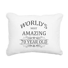 World's Most Amazing 70 Rectangular Canvas Pillow