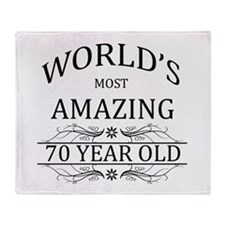 World's Most Amazing 70 Year Old Throw Blanket