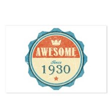 Awesome Since 1930 Postcards (Package of 8)