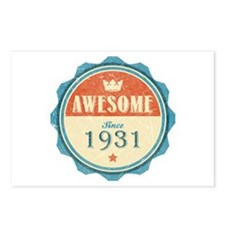 Awesome Since 1931 Postcards (Package of 8)