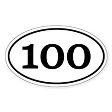 100 mile ultra! Decal