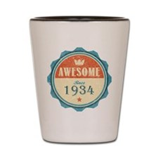 Awesome Since 1934 Shot Glass