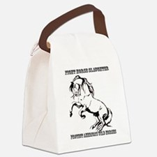 Fight Horse Slaughter Canvas Lunch Bag