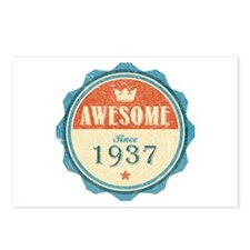 Awesome Since 1937 Postcards (Package of 8)