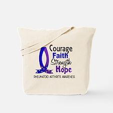 RA Courage Faith 1 Tote Bag