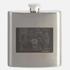 Dead Sleds Flask