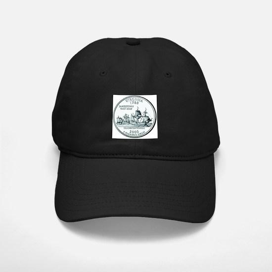 Virginia State Quarter Baseball Hat