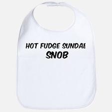 Hot Fudge Sundae Bib