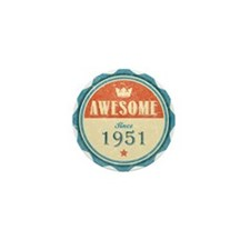 Awesome Since 1951 Mini Button (10 pack)
