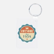 Awesome Since 1954 Keychains