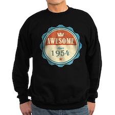 Awesome Since 1954 Dark Sweatshirt