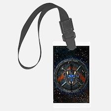 Spartan Diasporan Republic Emble Luggage Tag